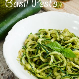 Fresh Basil Pesto Sauce
