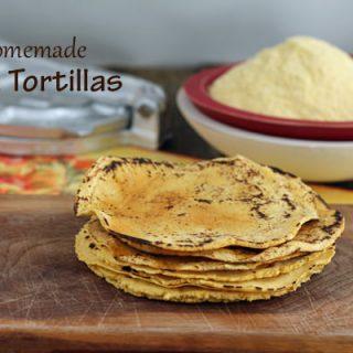 Corn Tortillas: Homemade Goodness