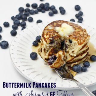 Buttermilk Pancakes [Gluten-Free]