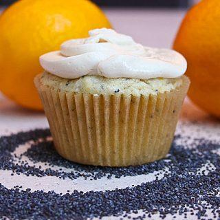 Lemon Poppy Seed Cupcakes 2-Ways: Gluten-Free & Lactose-Free