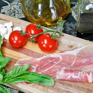 Prosciutto-Wrapped Caprese Salad