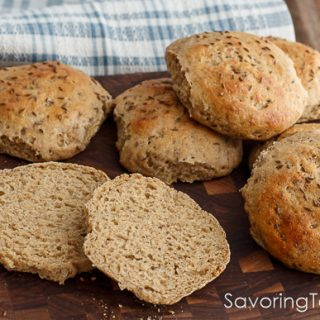 Sprouted Light Rye Sandwich Buns