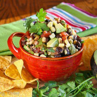 Black Bean Confetti Salsa and Memorial Day Menu Ideas