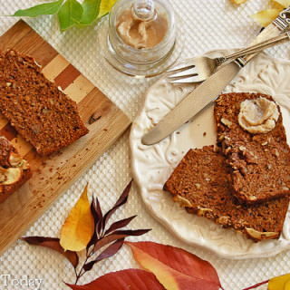 Apple Walnut Bread [Sprouted Wheat]