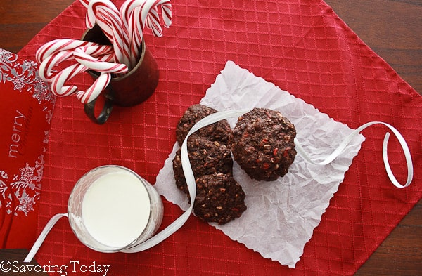 Peppermint Chip Chocolate Cookies [GF]   Savoring Today