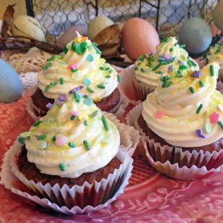 Guest Post by Linda at Savoring Every Bite: Carrot Beet Cupcakes (Gluten Free)