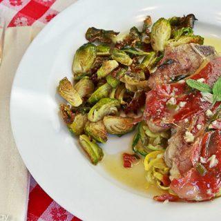 Veal Chop Saltimbocca: Hero Food