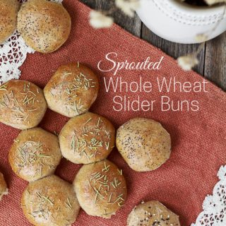 Sprouted Wheat Slider Buns for Party Sandwiches