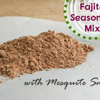 Fajita Seasoning Mix with Mesquite Smoke